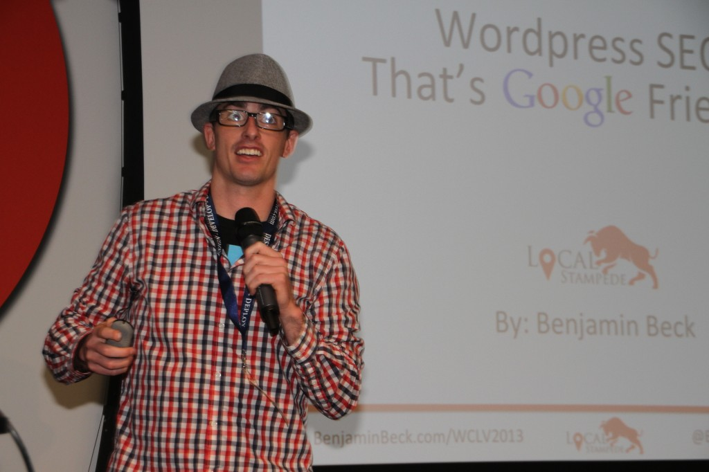 Benjamin Beck at 2013 Vegas WordCamp
