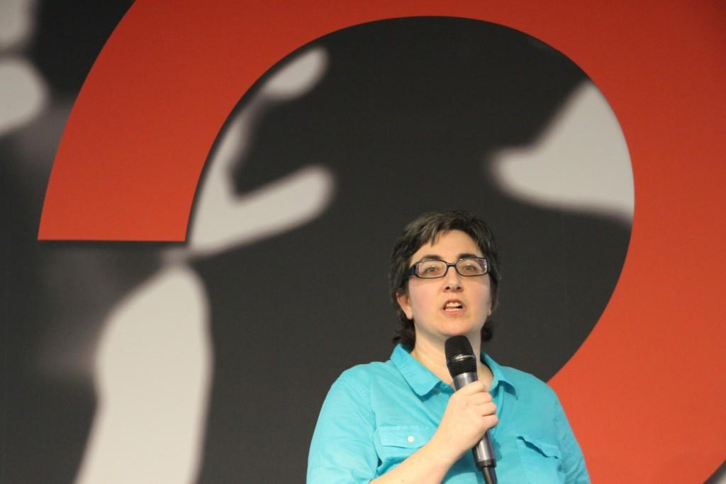Mika Epstein at 2013 Vegas WordCamp
