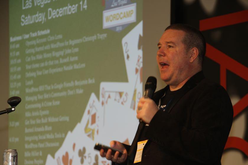 John Hawkins from WordCamp Las Vegas 2013