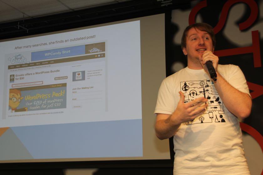 Russell Aaron from WordCamp Las Vegas 2013