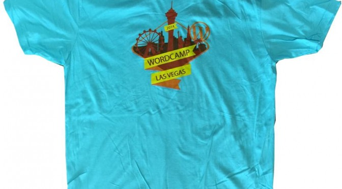 WordCamp Las Vegas 2014 T-Shirts are in!