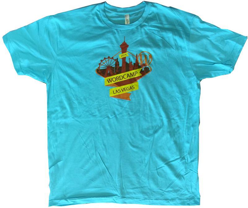 WordCamp Las Vegas 2014 T-Shirts