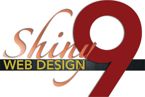 Logo for Shiny 9 Web Design