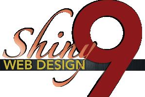 Logo for Shiny 9 Web Design