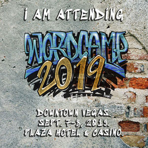 I am attended WordCamp Las Vegas 2019″ title=